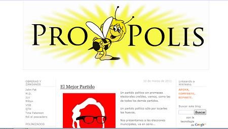 Propolis, una de las webs en las que participa Víctor Sampedro.